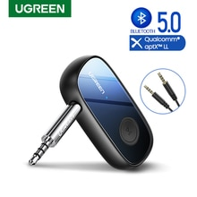 Ugreen Bluetooth Empfänger 5,0 aptX LL 3,5mm AUX Jack Audio Wireless Adapter für Auto PC Kopfhörer Mic 3,5 Bluetooth 5,0 rezeptor