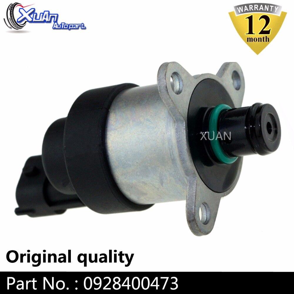 XUAN 0928400627 regulador de presión de bomba de combustible común de Control de solenoide SCV Unidad de válvula para Citroen Berlingo C3 C4 C5