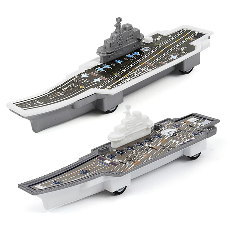 3Pcs Modern Military Aircraft Carrier Model Educational Toys Military Model artwox trumpeter 05607 u s cv 3 saratoga aircraft carrier wooden deck aw10120