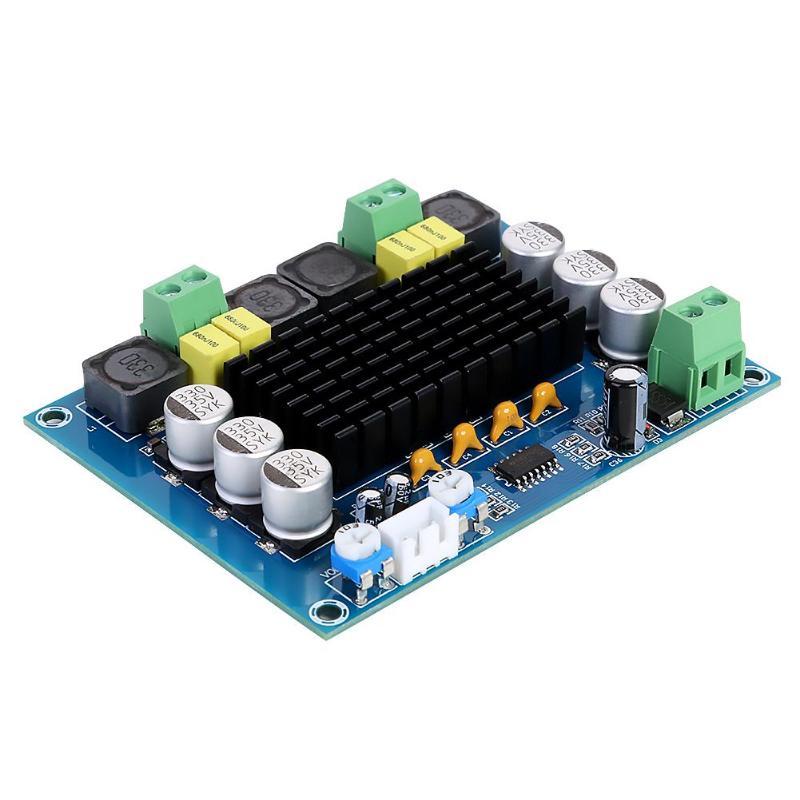 TPA3116D2 Placa de amplificador de potencia de Audio Digital de alta potencia estéreo de doble canal 2 módulo de amplificador de Audio 120W XH-M543 TPA3116 DC12 ~ 26V