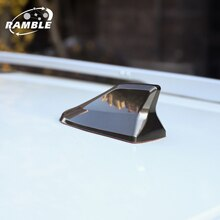 Car Exterior Roof Shark Fin Adhesive Sticker Antenna FM/AM Signal Radio Aerial Car Accessories for S