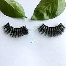 New Product 3D Faux Mink Eyelashes Natural Long False Eyelashes Dramatic Fake Lashes Makeup Extensio