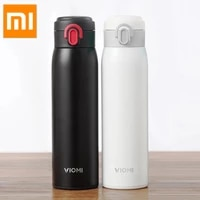 xiaomi mi mijia viomi stainless steel vacuum thermos mi cup 24 hours flask water smart bottle thermos portable gift