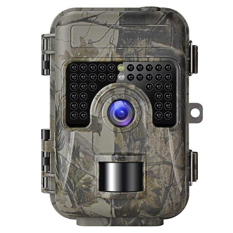 Cámara de rastreo de nuevo juego con visión nocturna movimiento activado 1080P 16MP cámara trampa de caza cámaras sin brillo IR y mejorado Waterp
