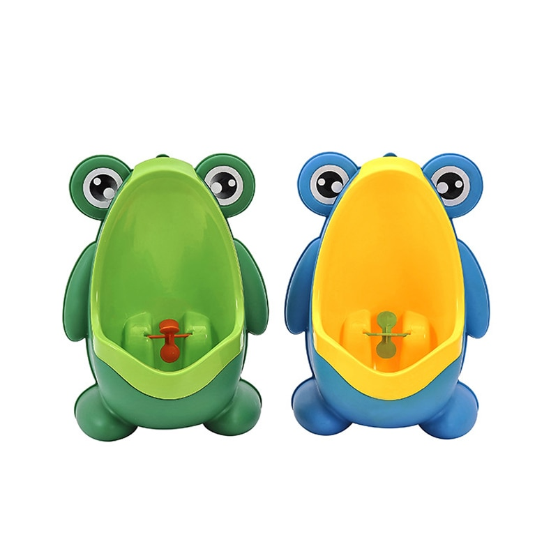Frog Pee Training,Potty Training Urinal for Toddler Baby Boys,Frog Shape Pee Trainer with Funny Aiming Target