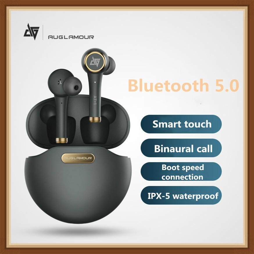 Auriculares Auglamour AT-1 TWS auriculares inalámbricos Bluetooth auriculares con sonido HIFI y auriculares KZ T1