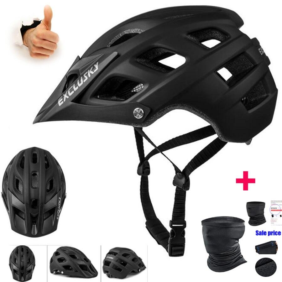 EXCLUSKY casco bicicleta ligero transpirable hombres mujeres casco de ciclismo gorra deporte...