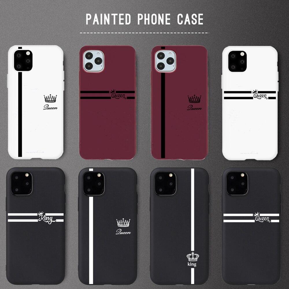 Funda de Color caramelo para iPhone X XS, funda para iPhone X XS MAX X XR 11 Pro 7 8 6 6s Plus, funda para amantes, funda suave de TPU para teléfono