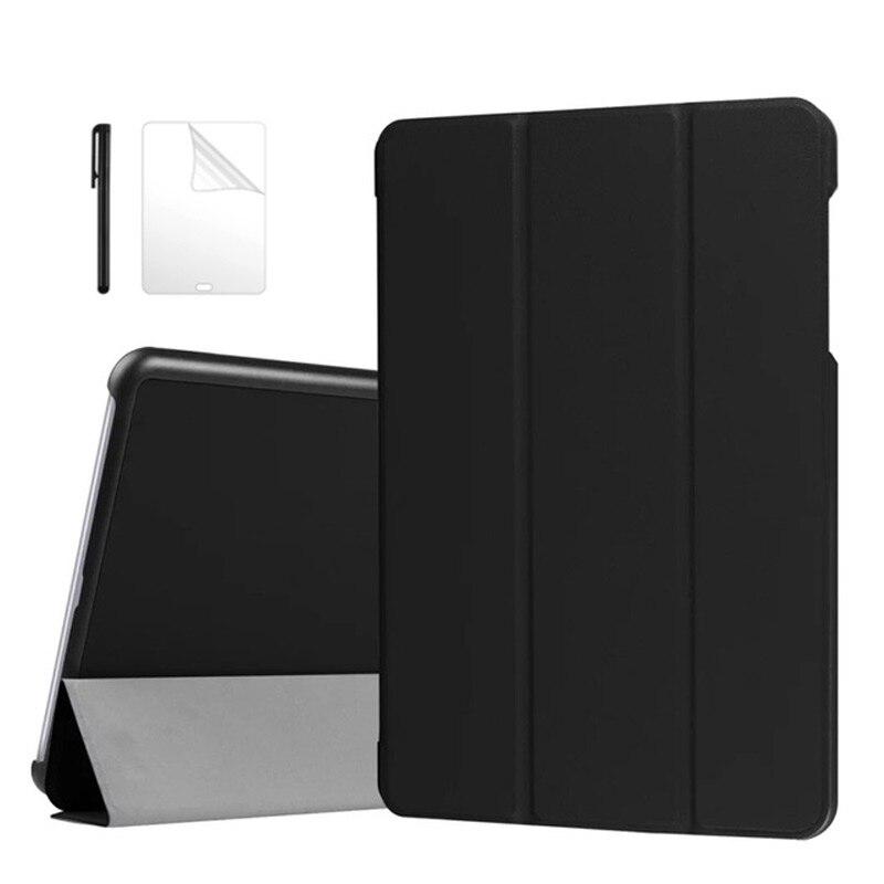 3 plegable Smart Flip PU funda de piel para Asus ZenPad 3S...
