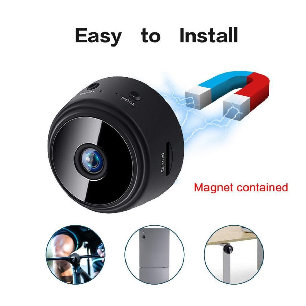 WiFi HD 1080P Home Security-Camera Night Vision Mini Wireless Surveillance Camera Remote Motion Detection Video Camera