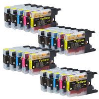 20pcs LC1240 Ink cartridges For Brother MFC J6510DW J6710 J6710DW J6910DW