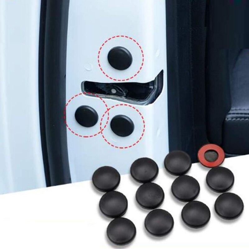 Cubierta protectora de tornillo de bloqueo de puerta de coche para Hyundai Tucson Elantra Creta IX25 IX35 Sonata Verna Solaris Santa Fe I30 Accent azera