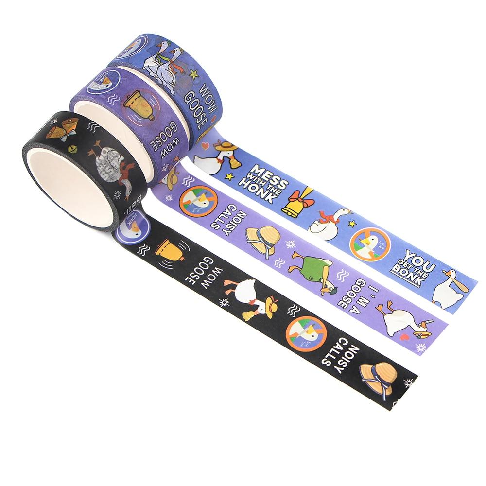G1264 15mmX5m Cartoon Game Washi Tape Masking Tape Decorative Adhesive Tape Sticker Scrapbook Diary Stationery