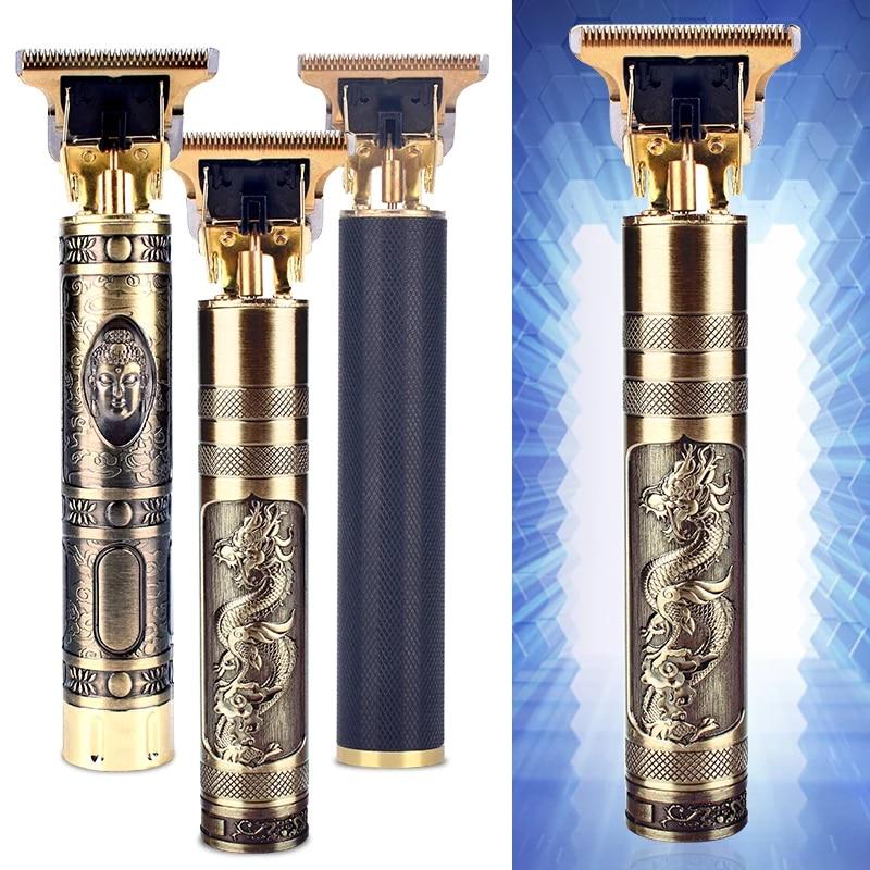 T9 Hair Clipper Professional Electric Hair Trimmer 0mm Baldheaded Cutter Beard Shaving Precision Fin