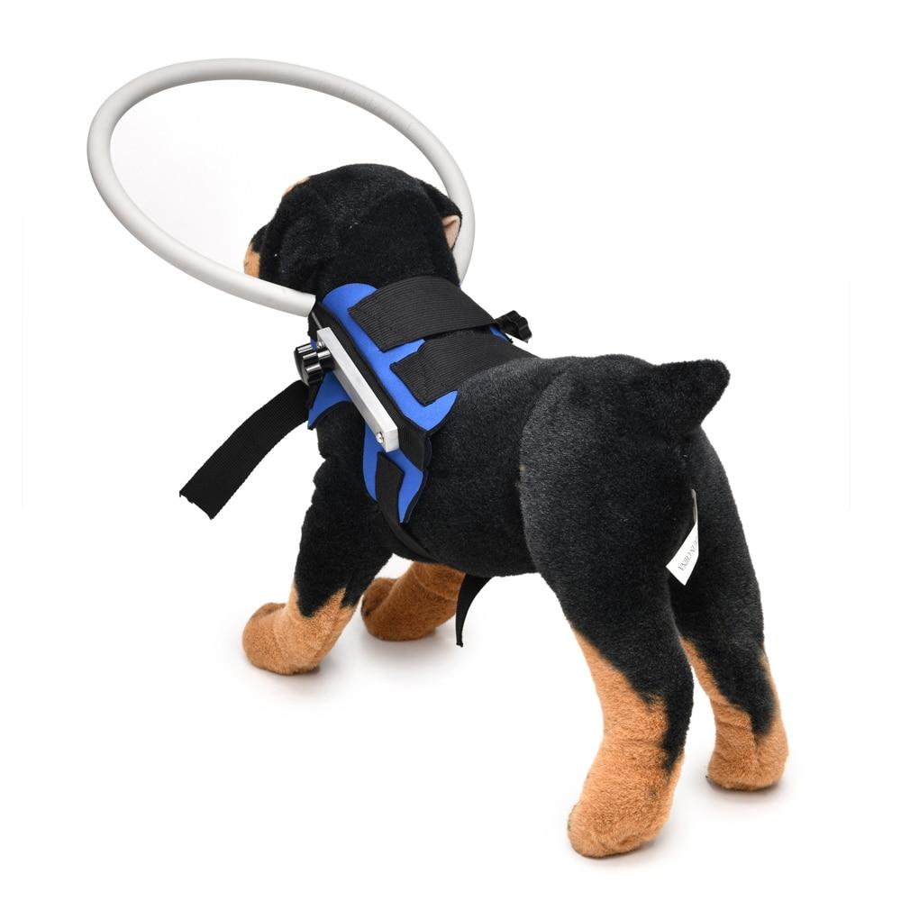 Arnés de seguridad mascota para perros ciegos chaleco anillo protector para perros gatos evitar colisiones pared suministros para perro mascota productos