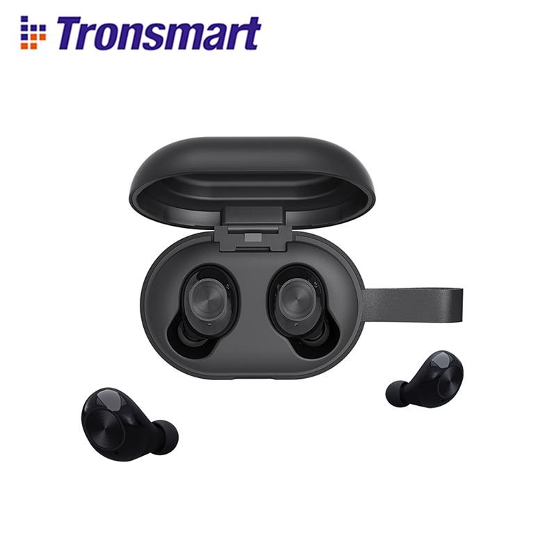 [Nueva versión] Tronsmart Spunky Beat valiente a Bluetooth inalámbrico verdadero auricular QualcommChip...