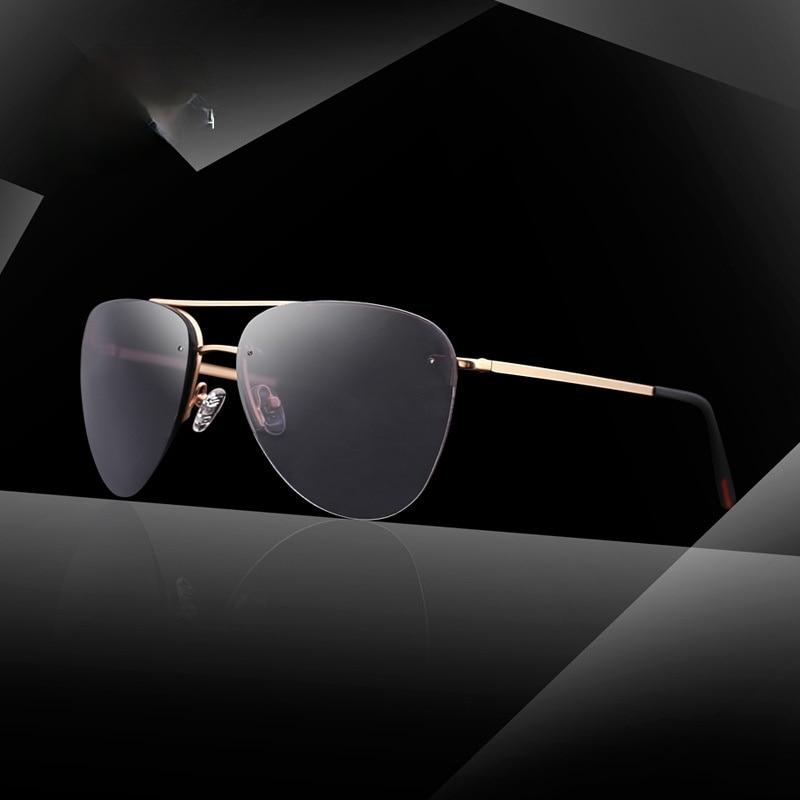 Minimal Shield men's sunglasses classic frameless metal driving sunglasses new cycling sports sungla