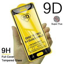 100Pcs 9D Tempered Glass For Samsung Galaxy J510 J310 J260 J250 J3 2017 J5 J530 J730 J7 Pro J2 Prime Full Screen Protective Film