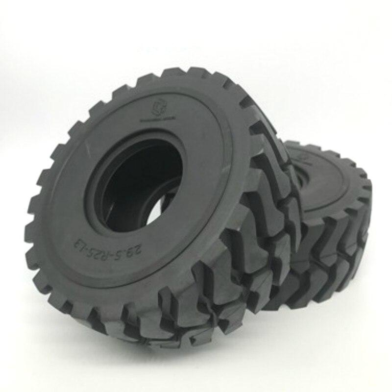1/14 Hydraulic Loader Model Tires Engineering Vehicle Model Tires Accessories Outer Diameter 142mm, Inner Diameter 53mm enlarge