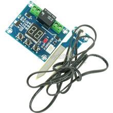 XH-M214 12 v 토양 습도 센서 컨트롤러 관개 시스템 자동 급수 모듈 디지털 디스플레이 습도 컨트롤러 빨간색