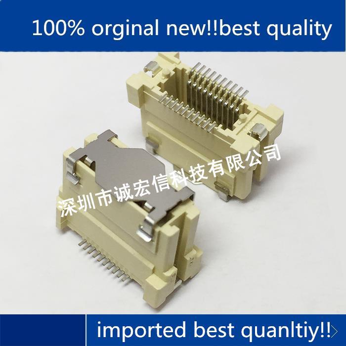 10 قطعة الأصلي العلامة التجارية الجديدة 0529010474 529010474 52901-0474 40pin 0.64 مللي متر الأصلي