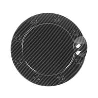for ford f150 2015 2020 car carbon fiber fuel tank cover gas door cap oil door cover trim sticker accessories