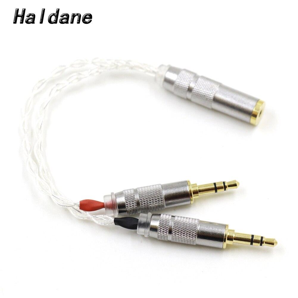 Haldane-Cable Adaptador de Audio para reproductor de mojo, adaptador de cobre y...