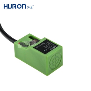 5 pieces of HURON square proximity switch DC three-wire SN04-P2 metal induction sensor PNP normally closed 4mm