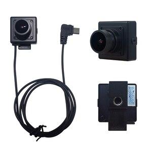 Body Worn Surveillance System Digital USB Camera IP Cam Kit Android UVC Wearable Mini Webcam Micro Square 25x25mm OTG   USB C