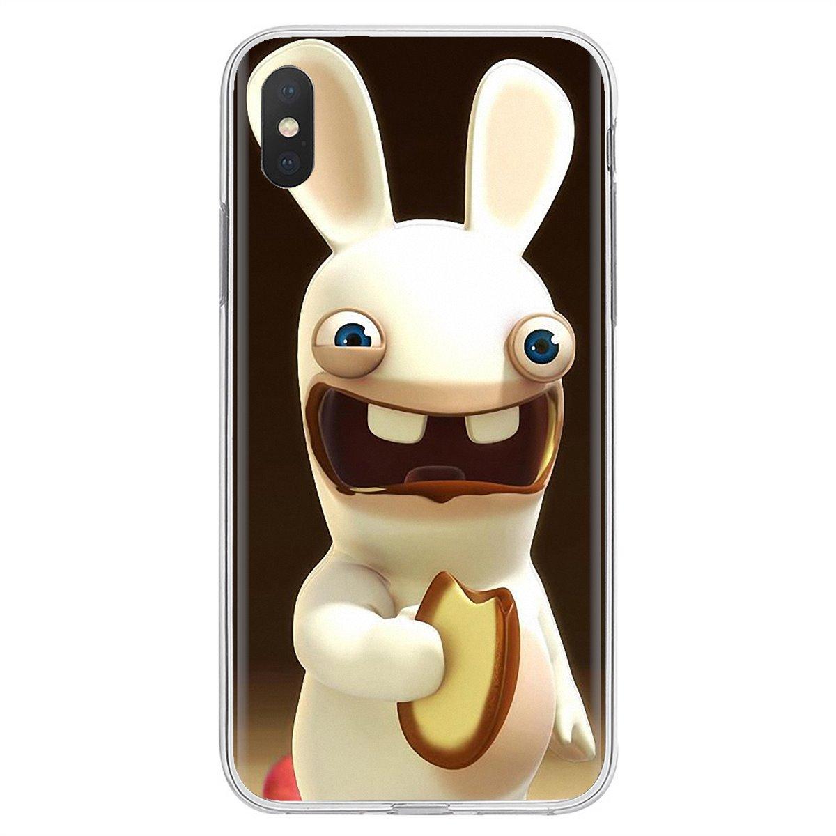 Rabbids lapin cretino naruto dibujos animados para Huawei Nova 2 3 2i 3i Y6 Y7 Y9 primer Pro GR3 GR5 2017, 2018 de 2019 Y5II Y6II suave funda de piel