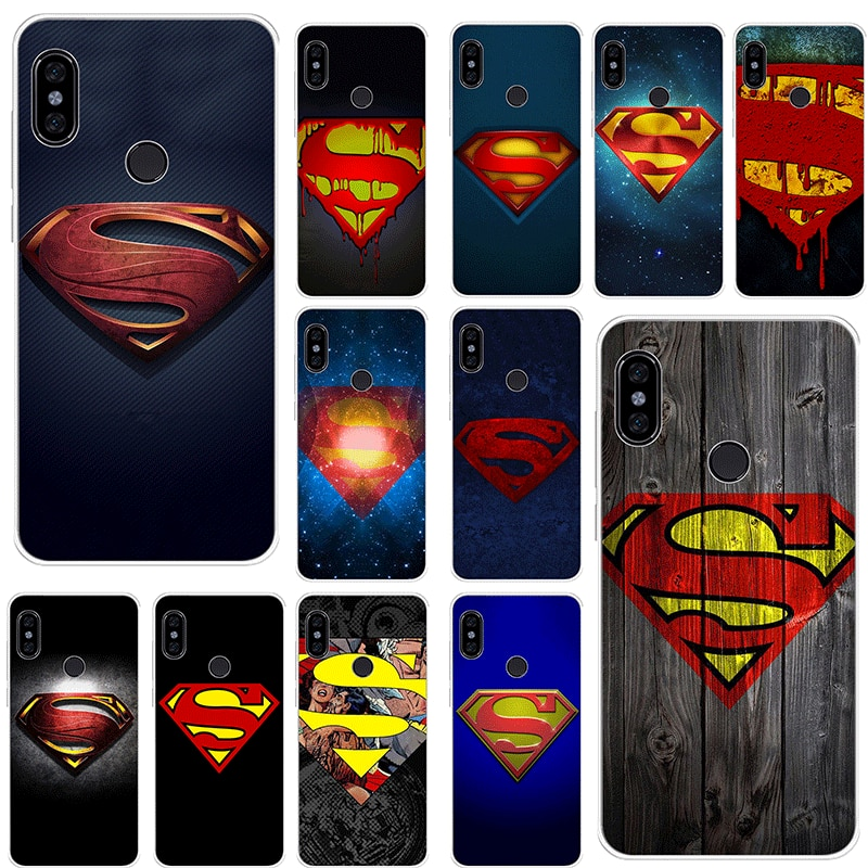 Mobile Phone Case for Xiaomi Mi CC9 CC9E 9T Mix 2S 6 8 9 SE A1 A2 5X 6X MAX 3 A3 Pro Lite Cover Superman S Logo
