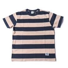 Camisetas a rayas anchas de 2 pulgadas sin STOCK para hombres, camisetas estilo prisión