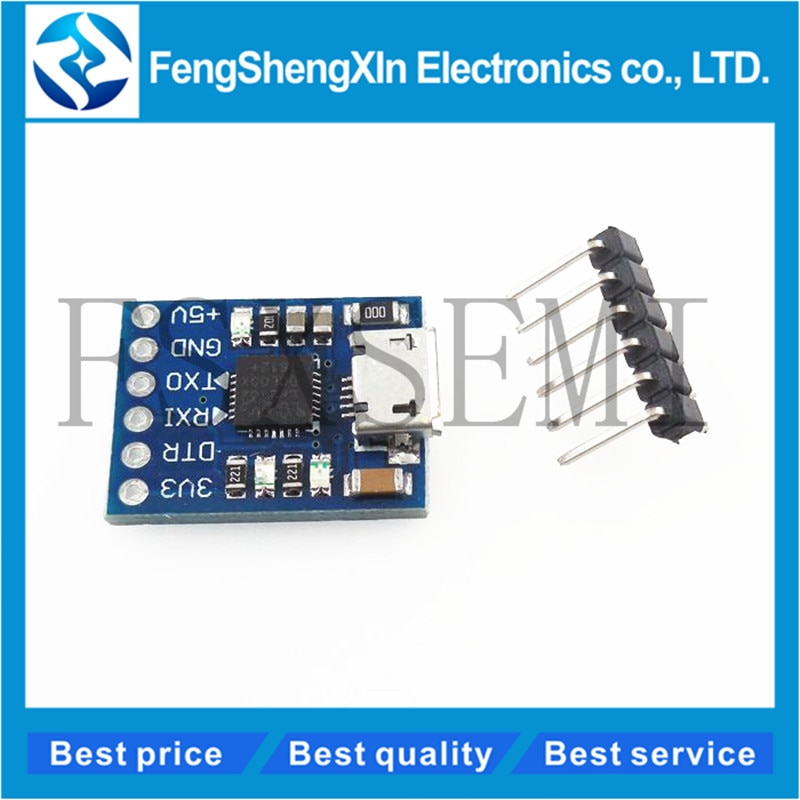 1pcs/lot CP2102 MICRO USB to UART TTL Module 6Pin Serial Converter UART STC Replace FT232 NEW for Arduino