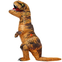 Adult Inflatable Dinosaur Costume T REX  Cosplay Party Costume Halloween Costumes for Men Women Anime Fancy Dress Suit