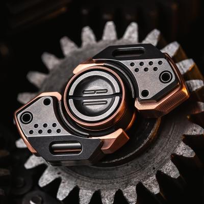 LAUTIE  BIT09SE Fingertip Gyro Mecha Style EDC High Speed Silent Lasting Fingertip Toy