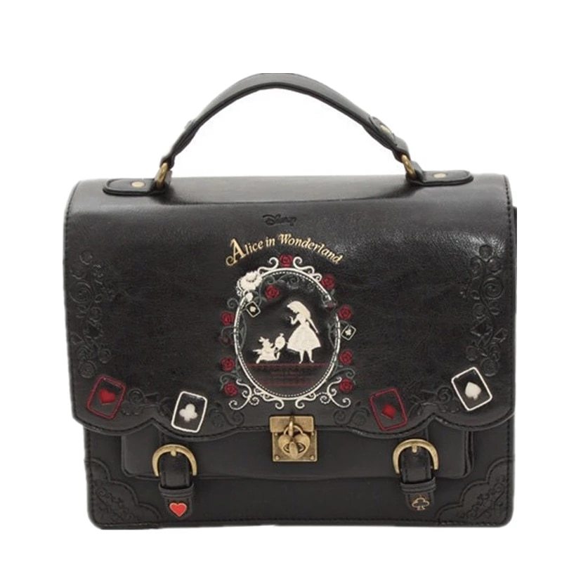 حقيبة ظهر جلدية فاخرة للنساء ، حقيبة مدرسية ، نمط عتيق ، صورة ظلية مطرزة ، حقيبة سفر يومية ، عصرية