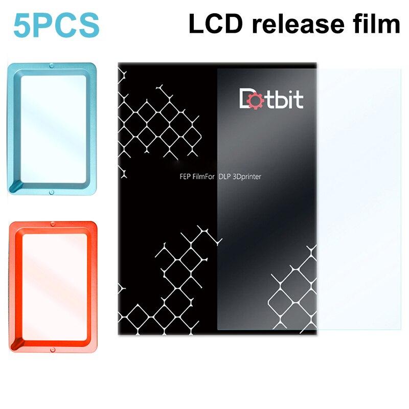5 Pcs FEP Film Accessories 0.15-0.2mm Durable for 3D Printer LCD Filaments @M23