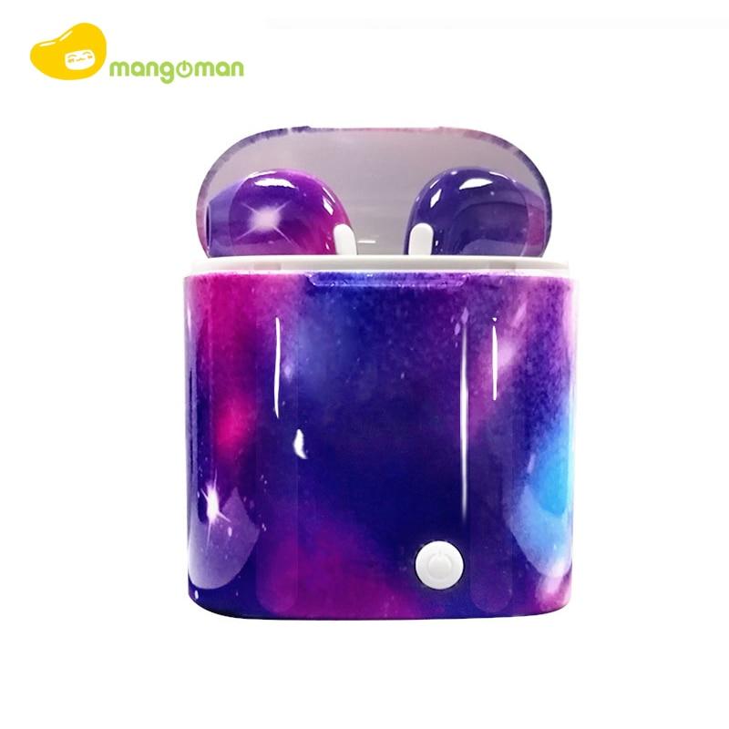 Mangoman i7s Tws беспроводные наушники, Bluetooth наушники, Air наушники, Handsfree in ear Headset, беспроводные bluetooth наушники i7s
