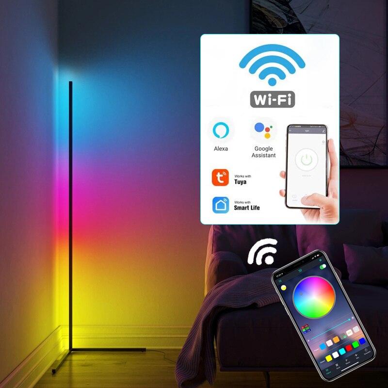 مصباح مكتب Led قائم بذاته ، يعمل مع Siri ، Alexa ، Google Home ، Rgb ، إضاءة لغرفة الدراسة ، غرفة النوم ، ديكور السرير