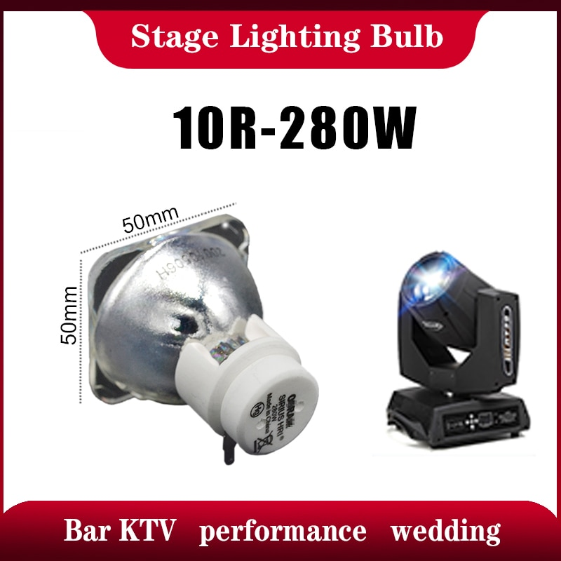 280W 10R beam buld head lights Sharpy beam moving head Sharpies 10R stage light lighting lamp buld dj light 280w 10r lamp недорого