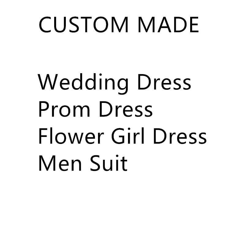 Link for Custom Design by yourself Wedding Dress Prom Dress Flower Girl Dress Men Suit