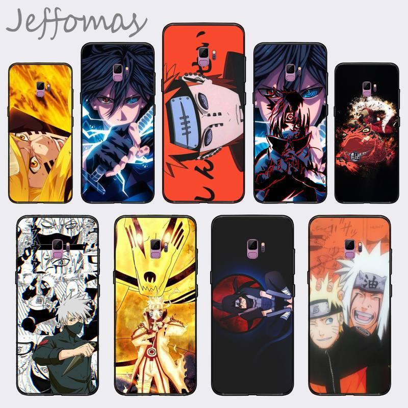 Naruto Anime Pain Uchiha Sasuke Uzumaki, funda de teléfono suave, Capa para Samsung S7 S6 edge S8 S9 S10 e plus A10 A50 A70 note8 J7 2017