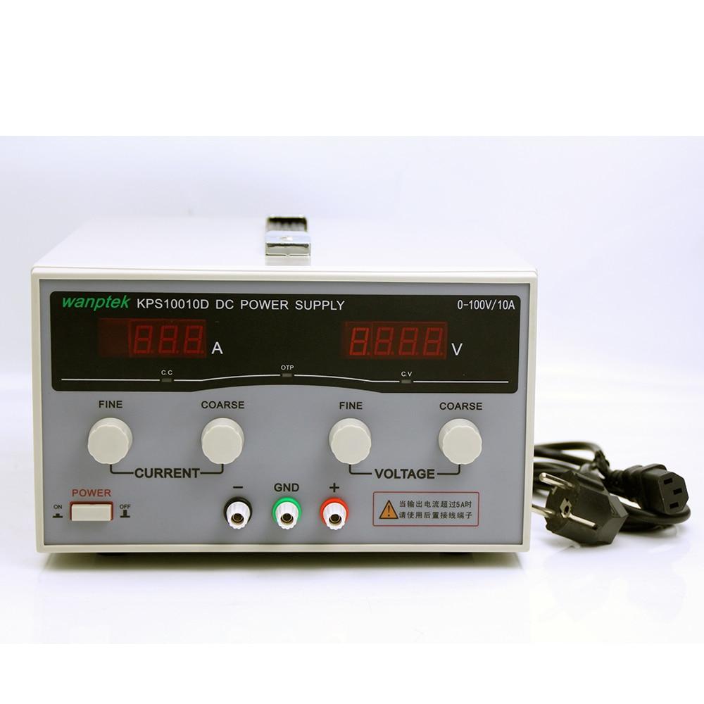 KPS10010D عالية الدقة عالية الطاقة قابل للتعديل LED العرض المزدوج التبديل تيار مستمر امدادات الطاقة 220 فولت 100 فولت 10A KPS 10010D