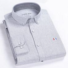 BOLUBAO Männer Casual Shirt Mode Drehen Unten Solide Langarm Shirts Baumwolle Männlichen Plaid Shirts Kleidung