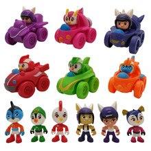 12 Stks/set Top Wing Action Figure Speelgoed Voertuigen Auto + Swift, Staaf, Penny, Brody Dolls Kids Gift