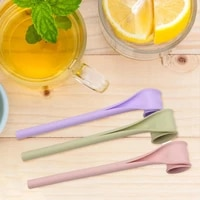 silicone universal one click open drinking straw waterproof home straw flexible for restaurant