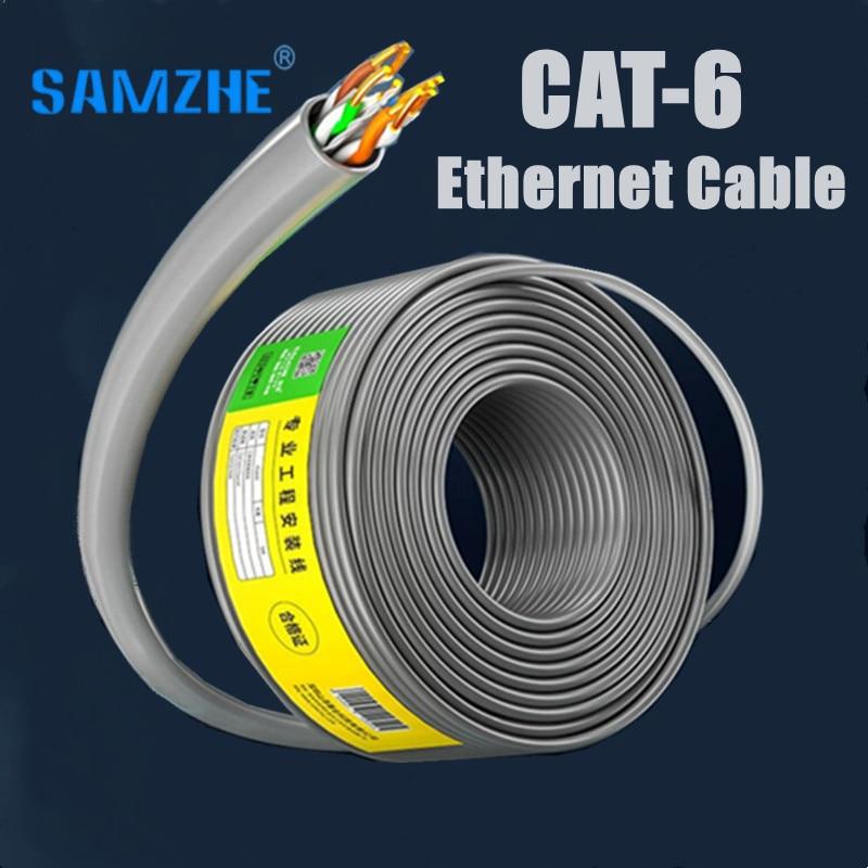 Cable Ethernet Cat6 de ingeniería inteligente, Cable Lan CAT 6 de alta...