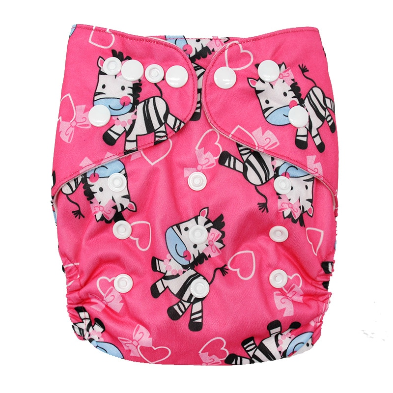 Eco-friendly Diaper Cover Wrap Washable Diapers couches lavables Reusable Cloth Nappy Pocket Diaper One Size Baby Cloth Diapers fashion cartoon print diaper pocket washable diapers couches lavables baby nappy reusable nappy baby cloth diapers