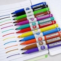 12pc colorful whiteboard marker white board pen pop graffiti drawing ink pen stationery office school supplies writing