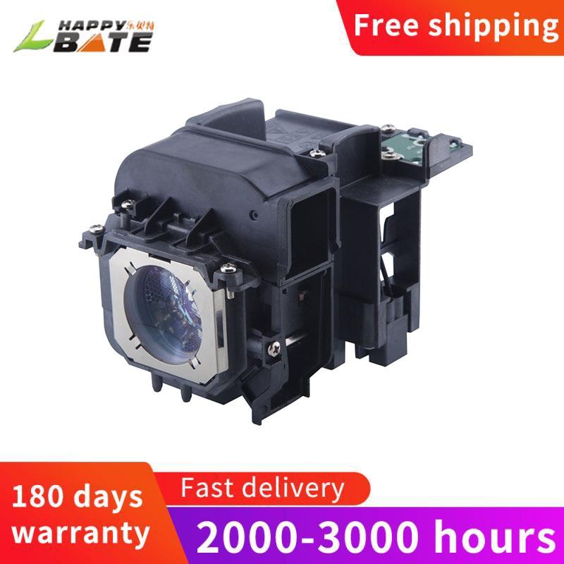 HAPPYBATE عالية الجودة ET-LAEF100 متوافق العارض مصباح مع الإسكان ل PT-EZ590 PT-EW650 PT-EX620 PT-EW550 PT-EX520 PT-FZ5